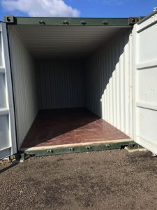 One of our 8' x 20' self storage units